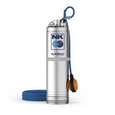 Потопяема помпа за кладенец NKm 4/4 - GE-N с поплавък, монофазна 0.75 kW