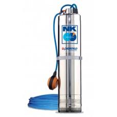 Потопяема помпа за кладенец NKm 4/4 - GE с поплавък, монофазна 1.5 kW