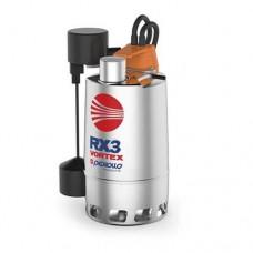 Потопяема помпа за мръсна вода RXm 3/20-GM с магнитен поплавък
