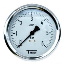 Манометър аксиален глицеринов Thermador ф50 0-6 bar