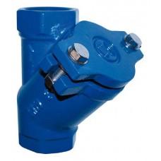 """Възвратен клапан за мръсна вода 1 1/4"""" FF чугун"""